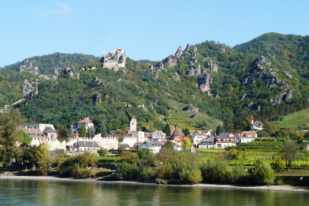 Die Donau bei Dürnstein in Österreich