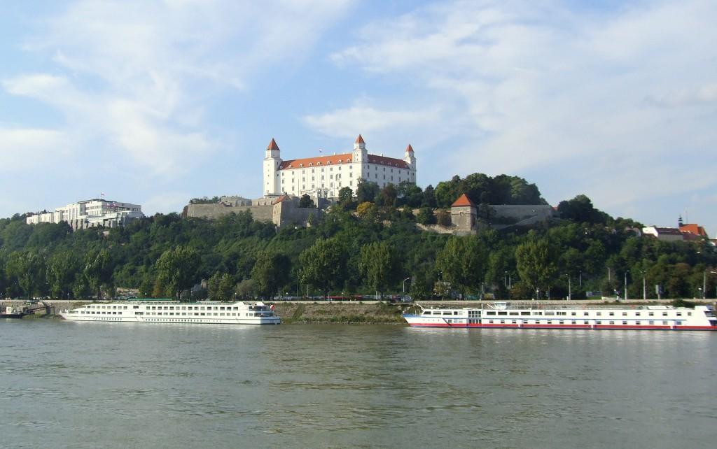 Die Donau bei Bratislava