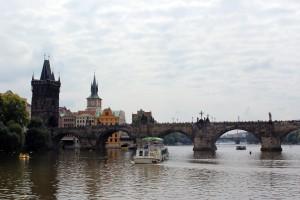 Karlsbrücke in Prag-Tschechien