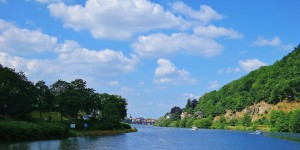 Flussreise auf dem Neckar