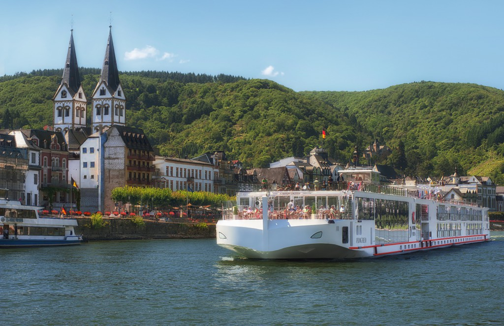 Die Viking Freya im Rheintal