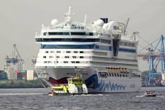 Kreuzfahrtschiffe zu Besuch im Hamburger Hafen 2018 / 2019