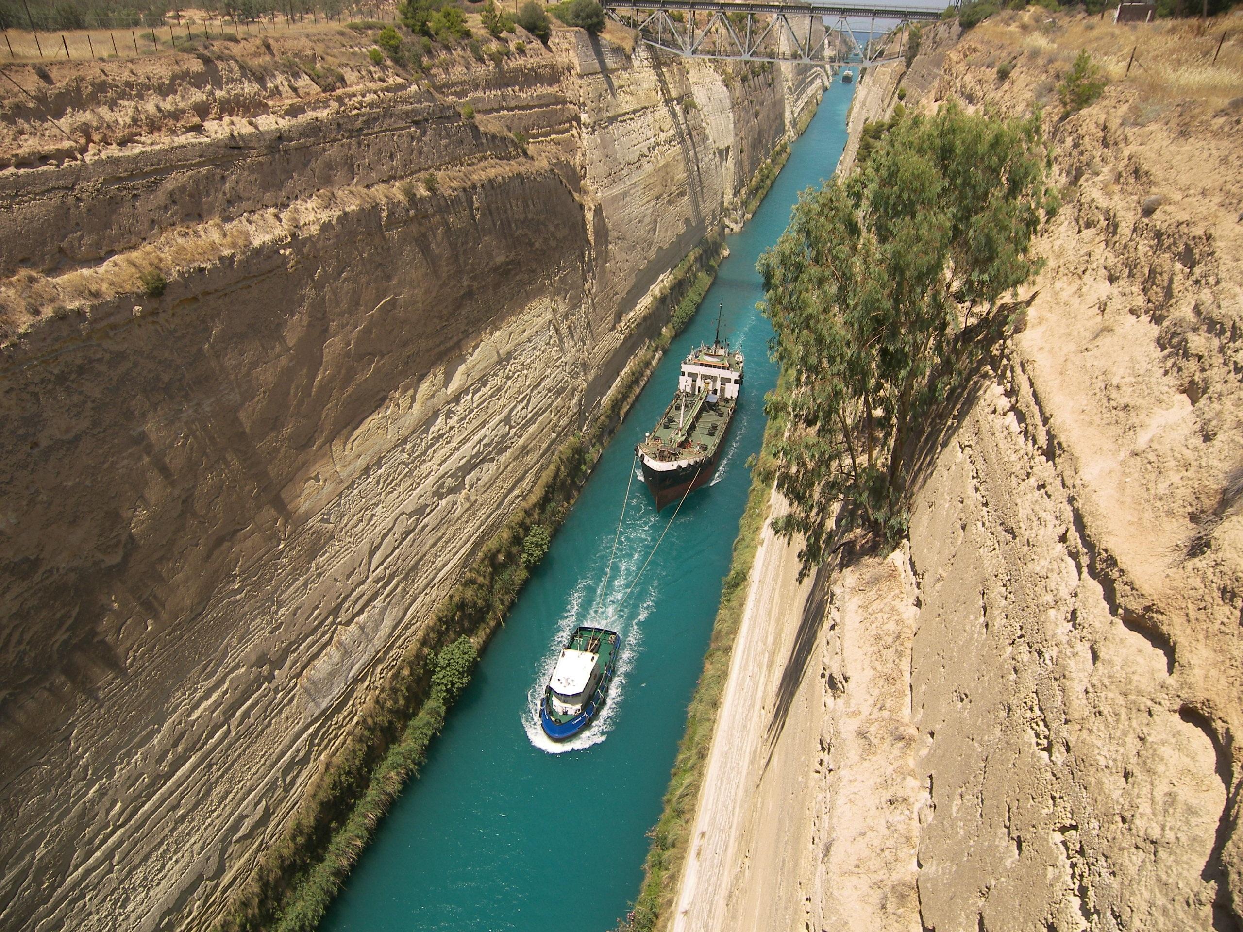 Korinth Kanal Kreuzfahrten