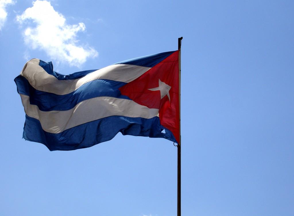 Die kubanische Flagge